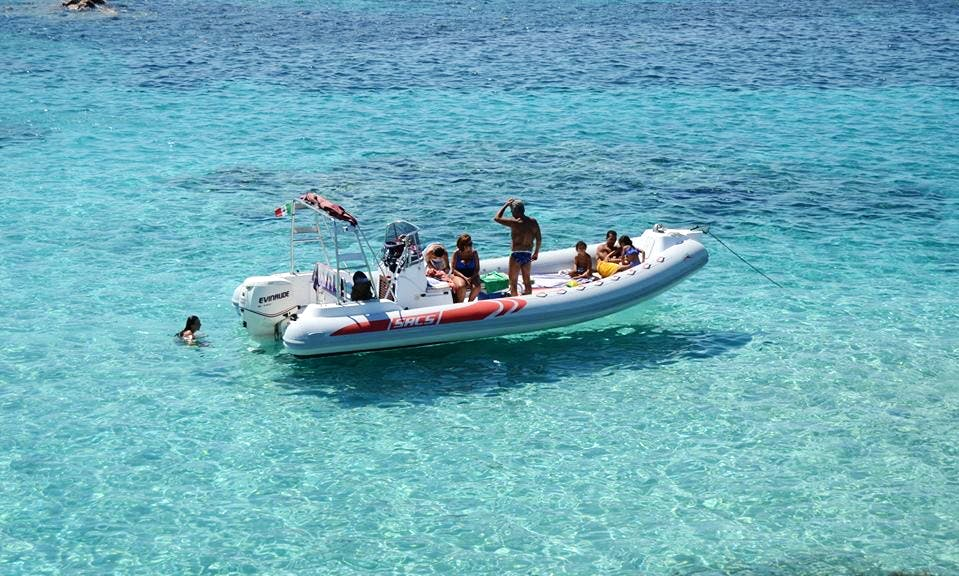 Charter a Rigid Inflatble Boat in Palau, Italy