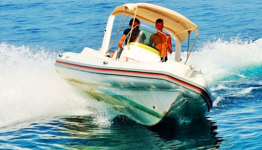 Bat Indian Rib Rental, Available In All Ionian Islands