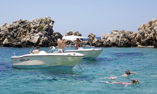 Oliaros Stagmar 500 Boat Rental In Paros