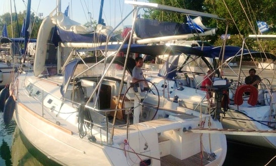 Athens, Greece Sailing Yacht Charter Beneteau Oceanis 37