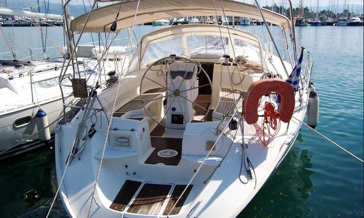 Charter Sun Odyssey 33.1' Cruising Monohull for 8 Person in Alimos, Greece