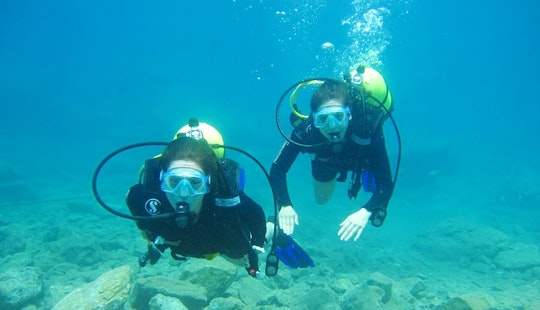 Enjoy Scuba Diving In Aydın, Turkey