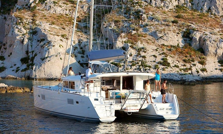 Private Boat Trips in Lagoon 400S2 Catamaran in Algarve, Portugal