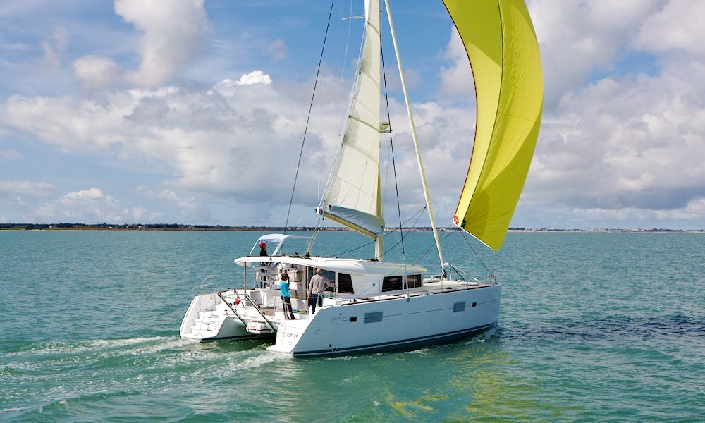 Private Boat Trips in Lagoon 400S2 Catamaran in Algarve, Portugal