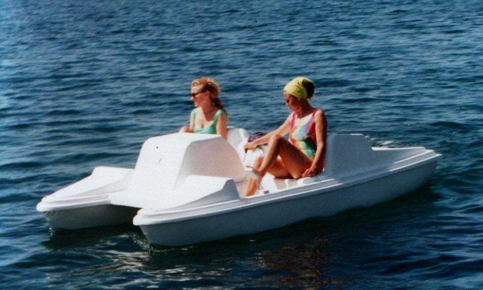 Rent a Two Person Pedal Boat in Aydın, Turkey