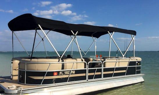 Bentley Encore Pontoon Rental In Clearwater, Florida