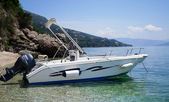 Family Boats - 25/30/40/60 Hp For Hire In Kerkira