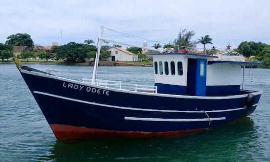 Passenger Boat Fishing Charter In Rio De Janeiro