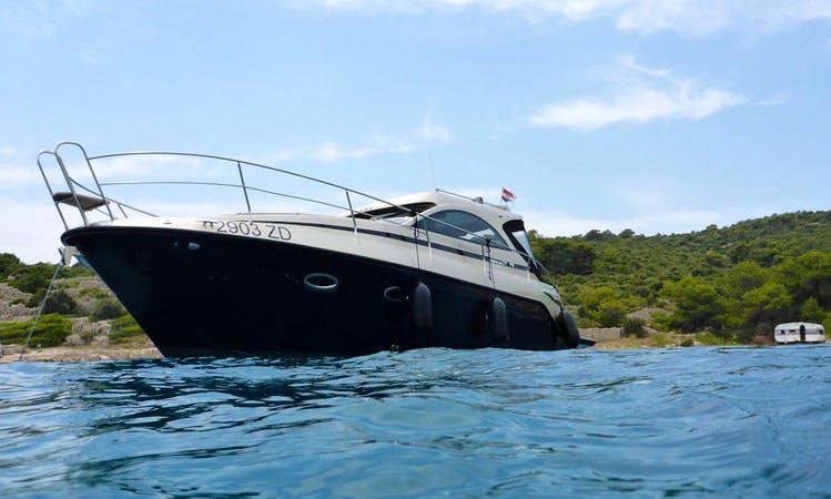 2017 Mirakul Motor Yacht Charter in Zadar, Croatia for up to 8 person