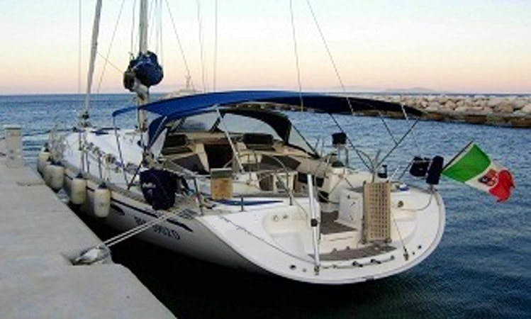 Captained Charter on 46ft Bavaria Sailing Yacht From Leuca, Italy