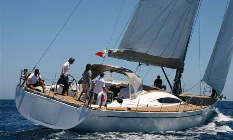 Cruising Monohull Charter in Lipari Italy