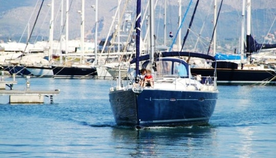 Luxury Oceanis 46 Sailing Yacht Charter In Italy