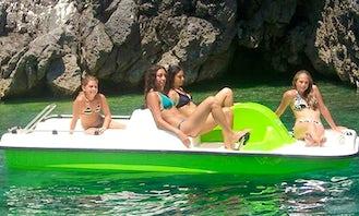 Pedal Boat Rental in Castro, Puglia