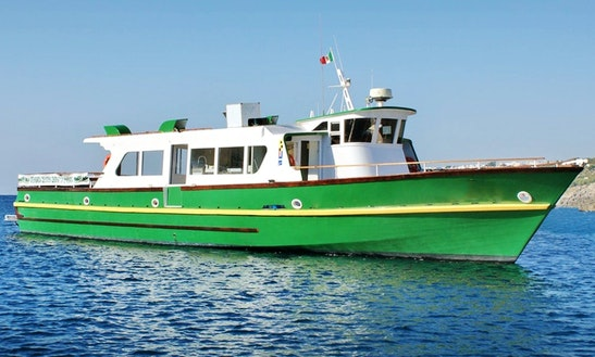Mistral Ii 82' Passenger Boat Tours In Castro, Italy