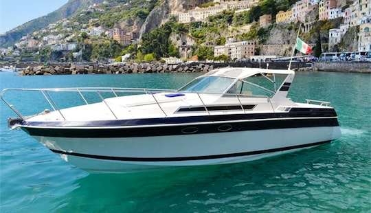 Wellcraft 34 Cabin Cruiser Captained Charter In Minori, Salerno, Italy