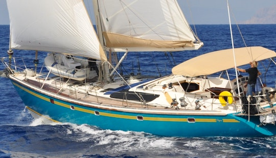 Charter On 62' Dynamique Ocean Yacht In Mikonos, Paros, Lavrion Greece