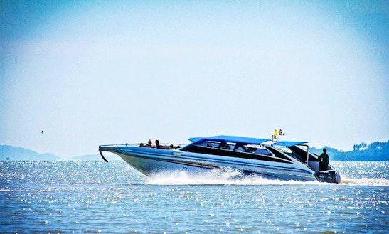 30 Person Cruising Powerboat For Charter In Tambon Tham Nam Phut, Thailand
