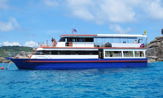 Daily Dive Charters On Mv Maya From Khao Lak