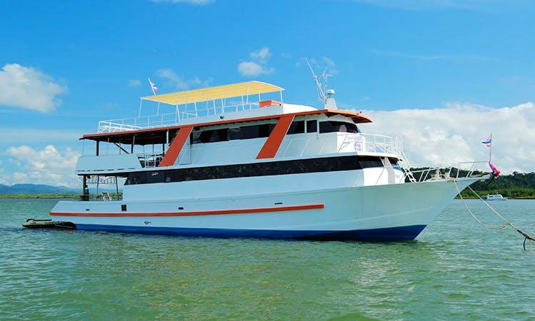 Scuba Yacht Charter NEMO 1 in Thailand