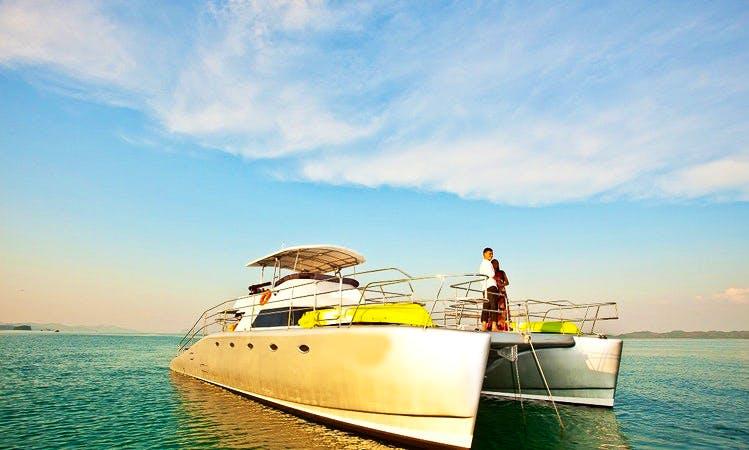 Cruising Catamaran Rental in Choeng Thale