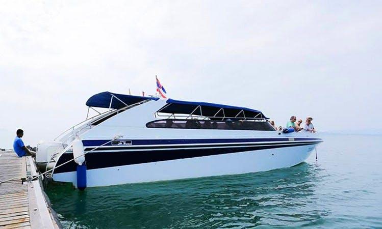 Charter on Motor Yacht(Speed Boat) from Phuket, Thailand