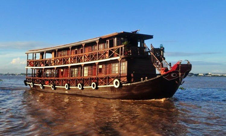 """Wooden Boat """"Lecochinchine"""" Cruise for 3 Days in Hồ Chí Minh, Vietnam"""