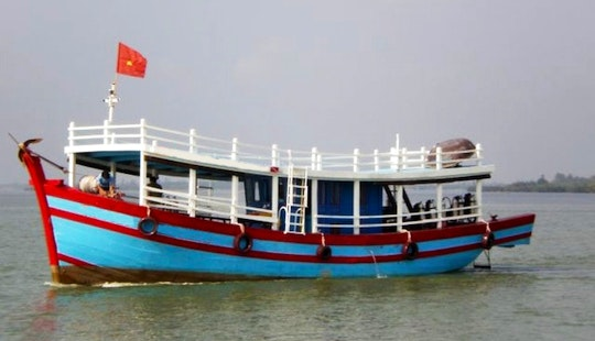 Passenger Boat In Hoi An