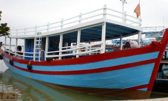 Passenger Boat In Hoi An