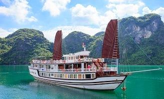 Halong Bay Getaway Viola Cruise in Hanoi