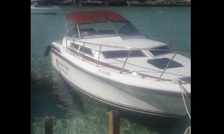 Charter a Motor Yacht in Exuma, The Bahamas