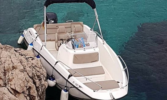 Charter A 20' Quick Silver Bowrider In Kotor, Montenegro