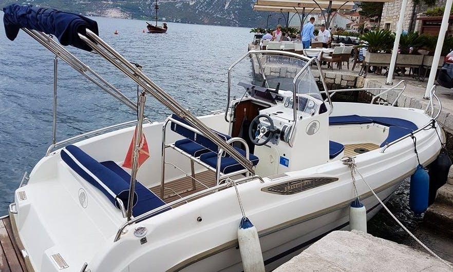 Charter a 23' Uttern in Kotor, Montenegro