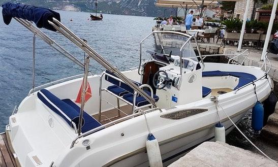 Charter A 23' Uttern Bowrider In Kotor, Montenegro