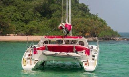 Charter a 39' Andaman Cabriolet Catamaran in Na Jomtien, Thailand