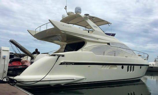 Charter Azimut Motor Yacht In Na Jomtien, Thailand