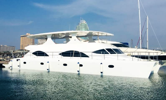 Charter Silver Princess Power Catamaran In Na Jomtien, Thailand