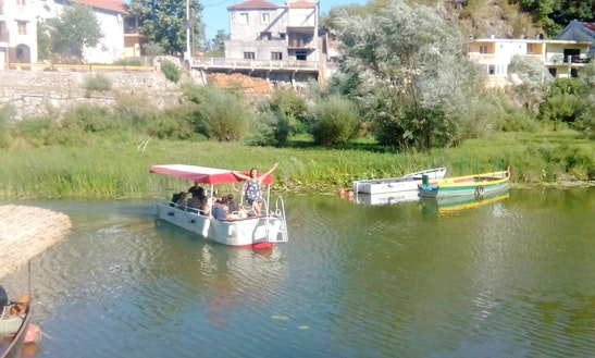 Charter Passenger Boat In Virpazar, Montenegro For 14 Pax