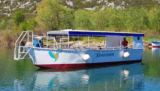Charter A Kingfisher Passenger Boat In Virpazar, Montenegro