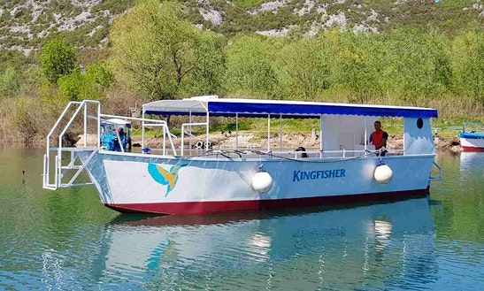Charter A Kingfisher Passenger Boat In Virpazar, Montenegro