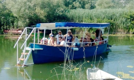 Charter A Passenger Boat In Virpazar, Montenegro For 20 Pax