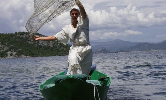 Enjoy Fishing In Virpazar, Montenegro Aboard Dinghy