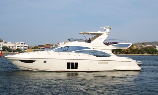 Charter A 60' Power Mega Yacht With Fully Trained Skipper In Cartagena, Colombia