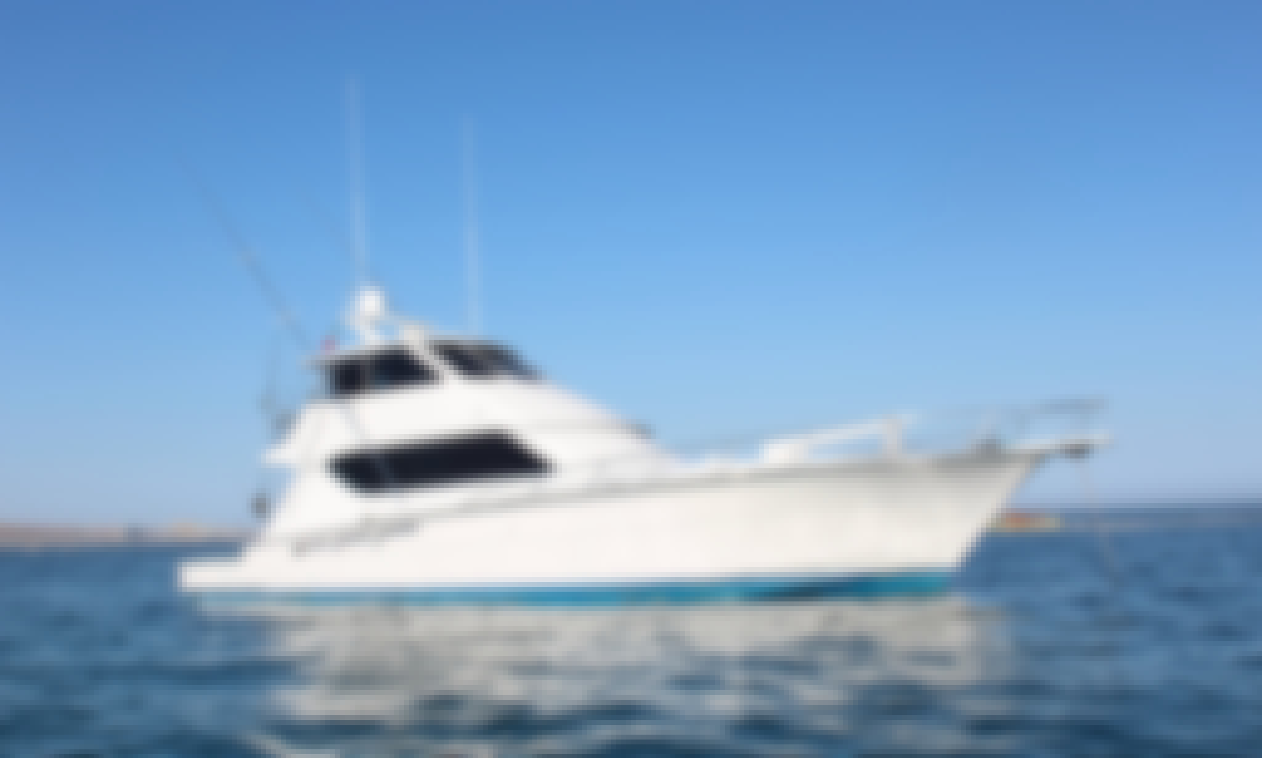 Hatteras 65′ Fishing Charter in Cabo San Lucas