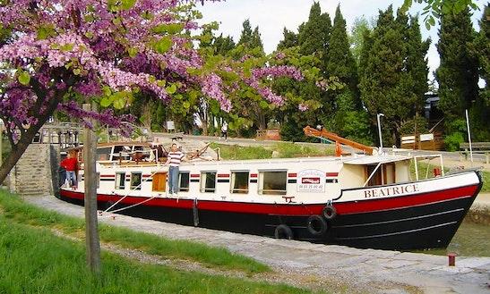 Canal Du Midi Cruises Hotel Barge Beatrice