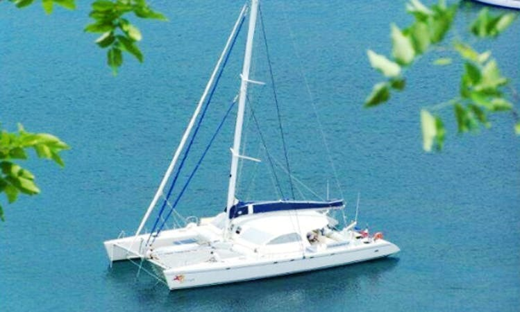 "Charter a 63ft  ""Freya"" Cruising Catamaran in Na Jomtien, Thailand"