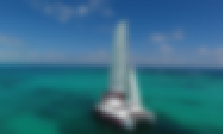 Catamaran Rental in Isla Mujeres Fountain Pajot 37