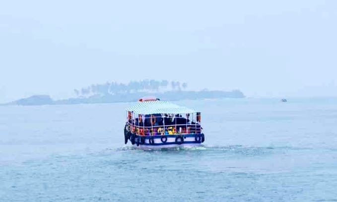 Explore Malpe, India - Charter a 30 Person Motor Boat!