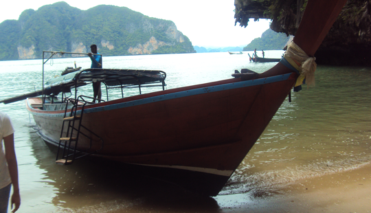8 Person Longtail Boat Rental In Chang Wat, Thailand