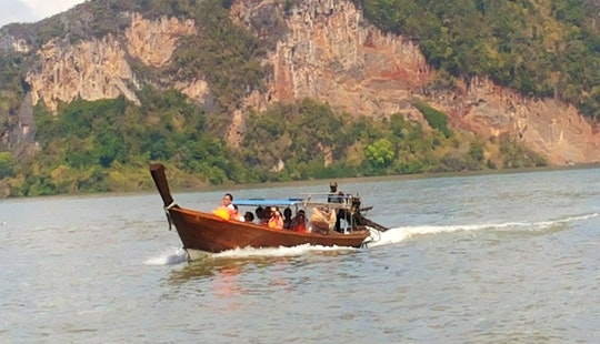 Charter An 8 Person Longtail Boat In Chang Wat, Thailand