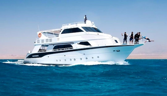 35 Person Yacht Charter In South Sinai, Egypt